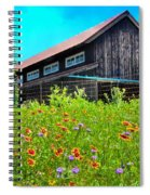 Spring's Blessings Spiral Notebook