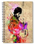 Springsteen Colored Grunge Spiral Notebook