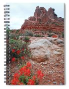 Springtime At Arches National Park Spiral Notebook