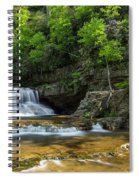 Springtime At Saint Mary's Falls Virginia Spiral Notebook