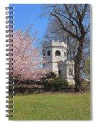 Springtime At The Botanical Garden Spiral Notebook