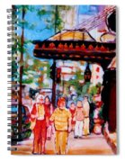 Springtime At The Ritz Spiral Notebook