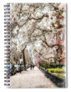Springtime Boston Back Bay Spiral Notebook