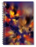 Springtime Explosion Of Life. Spiral Notebook