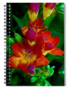 Springtime Happiness Spiral Notebook