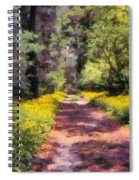Springtime In Astroni National Park In Italy Spiral Notebook