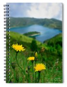 Springtime In Fogo Crater Spiral Notebook