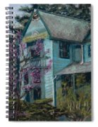 Springtime In Old Town Spiral Notebook