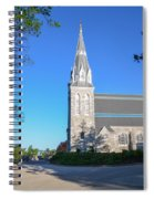 Springtime In Radnor - Villanova University Spiral Notebook