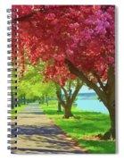 Springtime In The Park Spiral Notebook