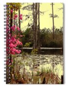 Springtime In The Swamp Spiral Notebook