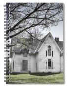 Springtime Ledge Homestead-bicolor Spiral Notebook
