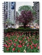 Springtime On Park Avenue Spiral Notebook