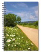 Springtime On The Loop Spiral Notebook