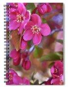Springtime Romance Spiral Notebook