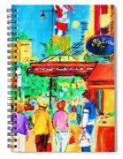 Springtime Stroll Spiral Notebook