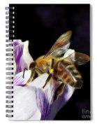 Springtime Visitor Spiral Notebook