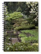 Springtime Walkway Spiral Notebook