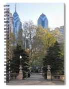 Sprintime At Rittenhouse Square Spiral Notebook