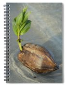 Sprouting Coconut Spiral Notebook