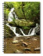 Spruce Flats Falls 2 B Spiral Notebook