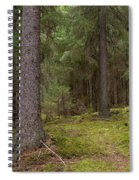 Spruce Forest  Spiral Notebook