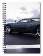 Spyker C12 Zagato Spiral Notebook