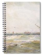 Squally Weather, Portsmouth Spiral Notebook