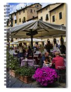 Square Amphitheater In Lucca Italy Spiral Notebook