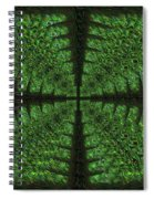 Square Crop Circles Four Spiral Notebook