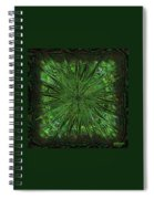 Square Crop Circles Three Spiral Notebook