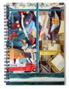 Square Peg Spiral Notebook