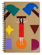 Square Peg Round Hole Spiral Notebook