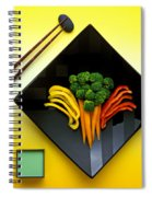 Square Plate Spiral Notebook