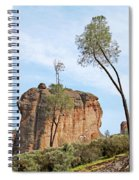 Square Rock Formation Spiral Notebook