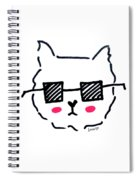 Square Shades Spiral Notebook