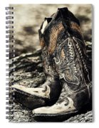 Square Toes Spiral Notebook