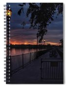 Squarely Into Sunup  Spiral Notebook
