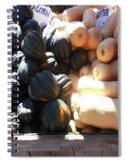 Squash At Market Spiral Notebook