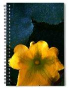 Squash Blossom Spiral Notebook