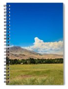 Squaw Butte And Little Butte Spiral Notebook