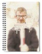 Squeaky Clean Window Washer Spiral Notebook