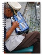 Squeeze Box Spiral Notebook