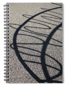 Squiggle Shadow Spiral Notebook