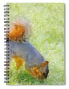 Squirrelly Spiral Notebook