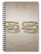 Super Sport Emblem Spiral Notebook
