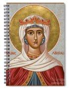 St. Abigail - Jcabi Spiral Notebook