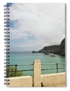 St Agnes To Holywell Spiral Notebook