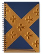 St. Andrew's Cross Spiral Notebook