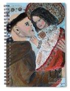 St. Anthony In Amazement Spiral Notebook